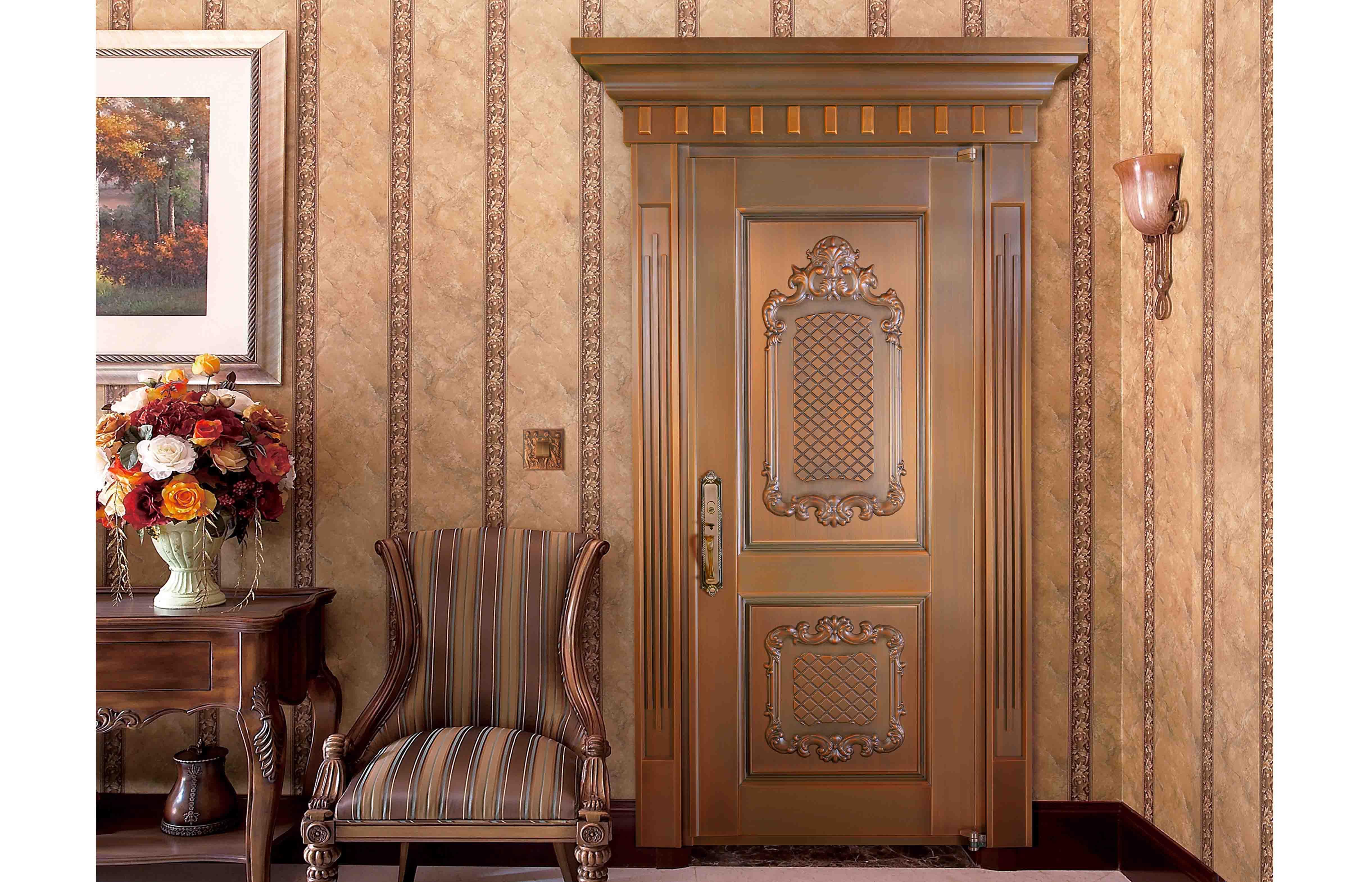 铜门套门完美打造,长沙市华远·华中心