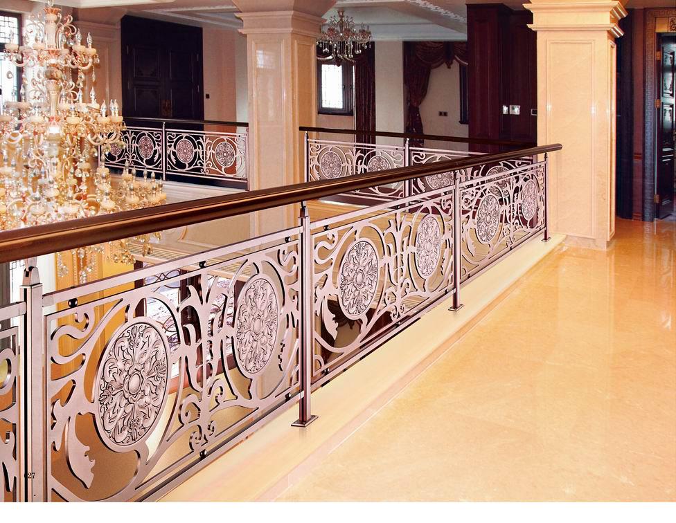 826普罗旺斯/楼梯护栏/金属楼梯/别墅楼梯护栏