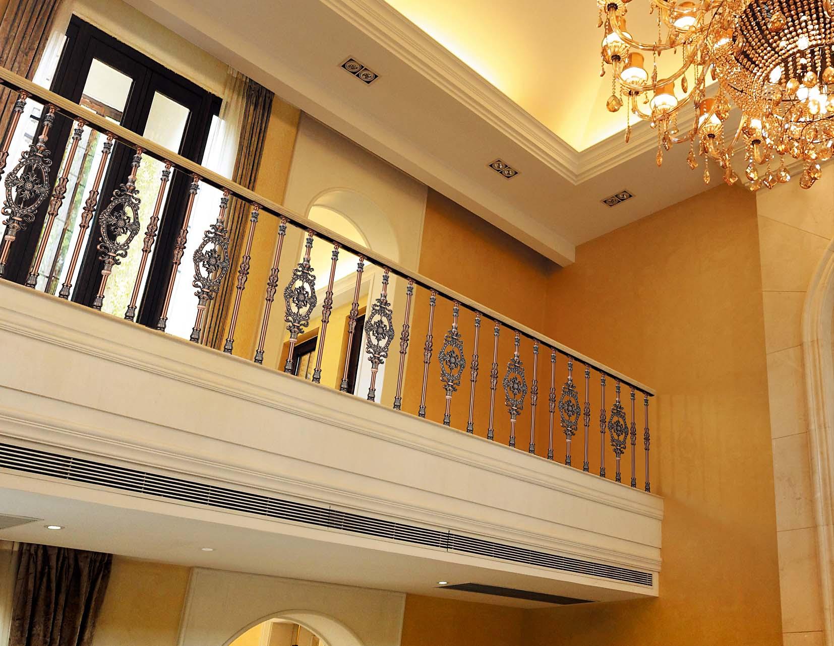 B010花溪谷/楼梯护栏/金属楼梯/别墅楼梯护栏