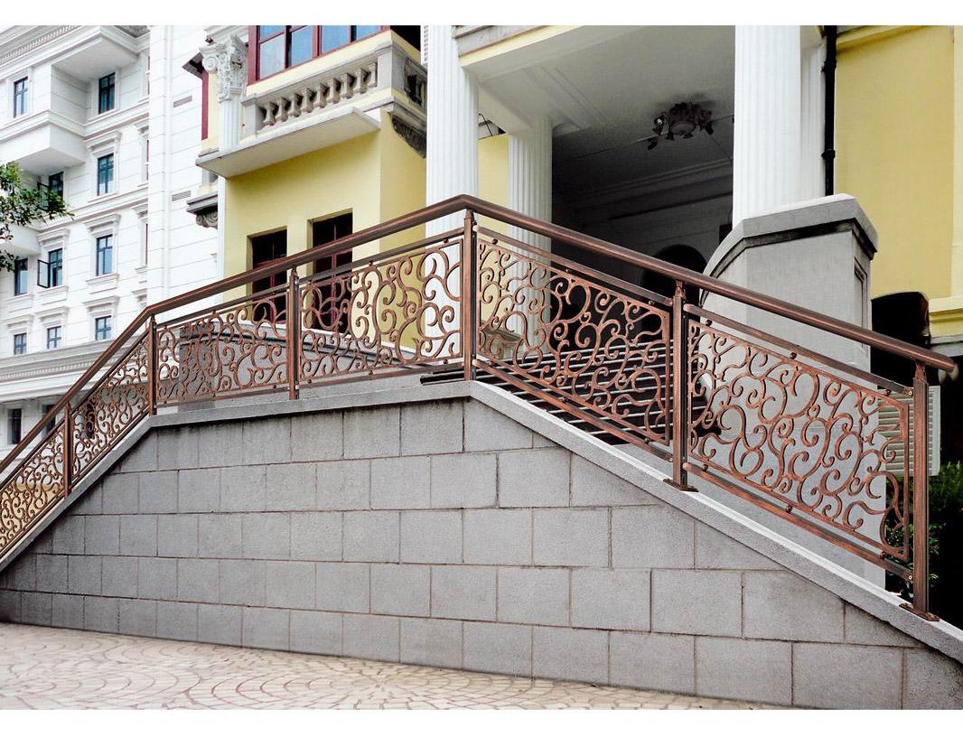 BLB013英伦曼舞/楼梯护栏/铜艺楼梯/别墅楼梯护栏