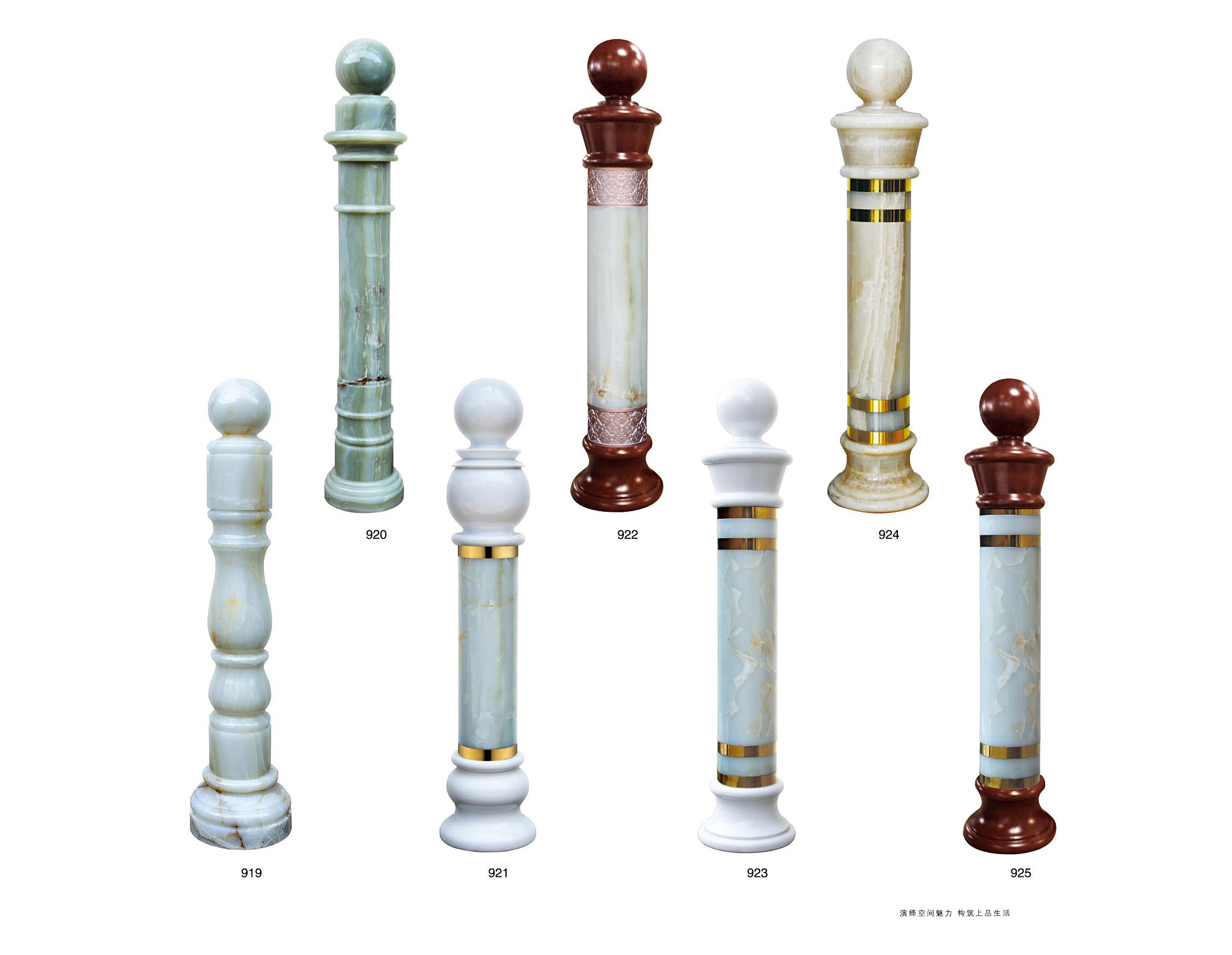 BLA030一柱擎天/楼梯立柱/楼梯护栏立柱/别墅楼梯立柱