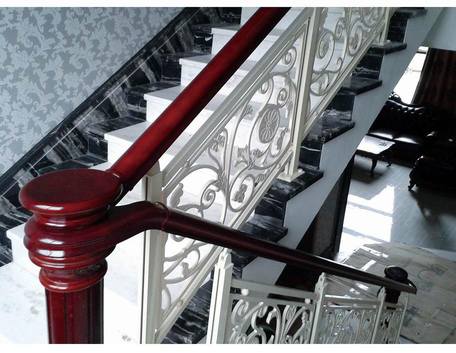 FLB015白金汉宫/楼梯护栏/铜艺楼梯/复式豪宅楼梯护栏