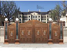 T001护宅豪门,庭院铜门,别墅大门,庭院大门