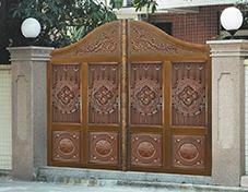 T006贵族府邸,庭院铜门,别墅大门,庭院大门